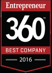 2016 Entrepreneur Best Company