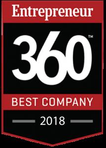 2018 Entrepreneur Best Company